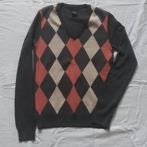 Club Monaco Argyle Sweater